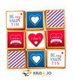 Biscuits - St Valentin Hommme