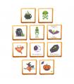 Biscuit à l'unité d'Halloween avec des décors terrifiants pour les petits et les grands