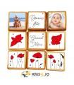 Biscuits Créatifs - Fête des grands-mères - Coquelicot